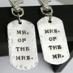 His and Hers Key chains/ luggage ta..